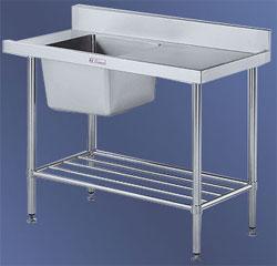 SSS08- INLET DISHWASHER BENCH