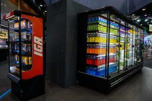 promotional fridges supermarket refrigeration